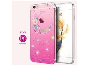 CASECUBE® iPhone 6/6s Case [Moon and Star] SWAROVSKI TPU Series for Apple iPhone 6/6s - Pink