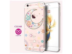 CASECUBE® iPhone 6/6s Case [Moon and Star] SWAROVSKI TPU Series for Apple iPhone 6/6s - Clear