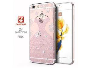 CASECUBE® iPhone 6/6s Case [Wedding Dress] SWAROVSKI TPU Series for Apple iPhone 6/6s - Pink