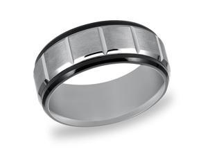 Triton, Tungsten Carbide 9mm Comfort Fit Wedding Band