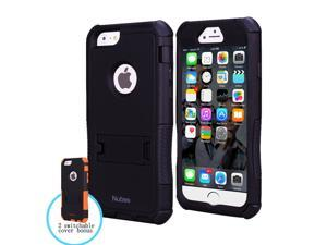 iPhone 6 Case, Nubee® Water Resist Full-body Protection Heavy Duty Case with Built-in Screen Protector 3-layer protective case and 2 Interchangeable TPU Covers for Apple iPhone 6 (4.7 inch)