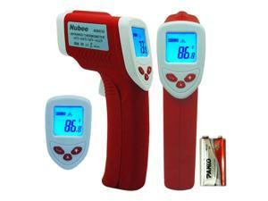 Nubee® Temperature Gun Non-contact Infrared IR Thermometer Range -58F to 1022F w/ Laser Sight Includes Battery FDA/FCC/CE/ROHS Approved