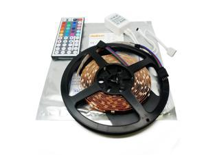 Nubee® 16.4ft 5M RGB Color Changing LED Light Strip SMD 5050 Non-waterproof Strip light + 44Key IR Remote Controller