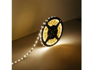 Nubee® 16.4 Feet(5 Meter) Warm White Non-waterproof 300 LEDs Flexible LED Strip Light and Adhesive Back 12 Volt