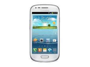 Samsung I8190 Galaxy S III mini Baby S3 Quad Band Android OS, v4.1 Jelly Bean Unlocked Phone (White)