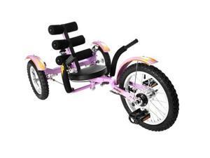 Mobo Kids PURPLE Mobito Tricycle 3 Wheel Child Cruiser Bike.