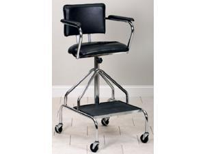 Clinton Chrome Plated Close Fit Adjustable Height Whirlpool Chair