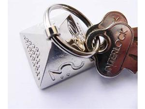 Life Energy Ki-Bal mini p.e.Bal EMF Field Protection Keychain Pyramid