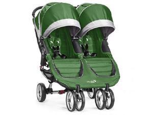 Baby Jogger City Mini Double Child Stroller Evergreen