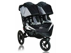 Baby Jogger Summit X3 Double Child Jogging Stroller Black