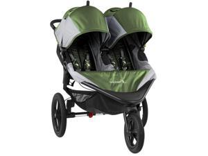 Baby Jogger Summit X3 Double Child Jogging Stroller Green