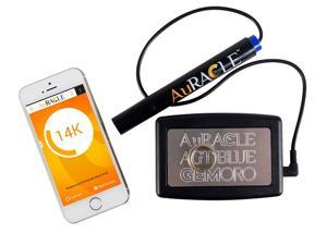 GemOro Auracle AGT BLUE Wireless Mobile Bluetooth Gold & Platinum Metal Tester