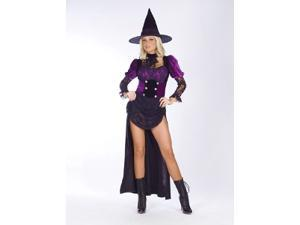 Witch Burlesque Medium/Large Costume