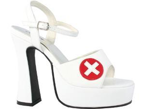 Shoe Nurse White Sexy Size 8 Accessory