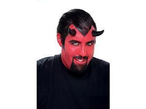 Demon Horns (Black) Prosthetic Accessory