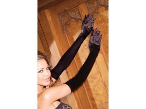 Gloves Opera Length Black