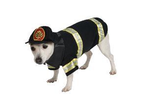 Firefighter Pet Costume Size Large