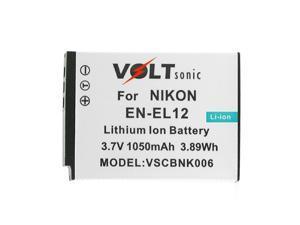 Voltsonic 1050mAh Li-Ion Rechargeable Digital Camera Battery for Nikon EN-EL12