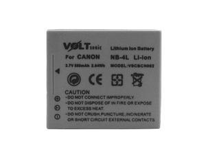 Voltsonic 550mAh Li-Ion Rechargeable Digital Camera Battery for Canon NB-4L