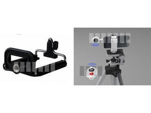 Wireless Shutter Release Control + Tripod Adapter Phone Mount Threaded for Apple iPod Touch iPhone 5 4S 4 4G 3 Effective ...