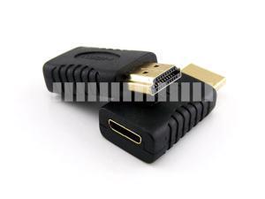 Standard HDMI Male to Mini HDMI Female Adapter HDMI Type A Male to HDMI Type C Female Connector Converter HDMI Gold Plated Mini HDMI Female to HDMI Male Adapter Gold Plated OEM