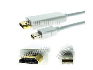 16Ft 5M Mini Displayport Mini DP Thunderbolt Male to HDMI Male Long Cable Adapter Converter for Apple Mac iMac Mini Mac Pro ... - OEM
