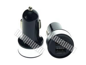 2 Ports ( 2.1A + 1.0A ) USB Car Charger with LED Light Indicator for Tablet Mobile Smart Cell Phone Apple iPad 4 Mini 2 Air 3 2 iPhone 6 Plus 6+ 5 5S 5C Samsung Galaxy Note 3 2 S5 S4 S3 Tab 3 10.1 OEM