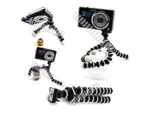 Flexible Mini Tripod for Selfie Cell Phone Apple iPhone 6 Plus Galaxy S7 6+ 6 5S 5C 5 4S 4 Galaxy S5 Note 3 2 Sony Nikon Canon Pocket Digital Camera DC Camcorder Handycam Webcam OEM