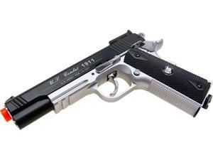 Airsoft CO2 High Power 1911 Two Tone 500 FPS Gas Semi Auto Non Blowback