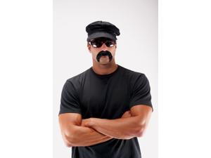 Mustache Biker Mustache Black
