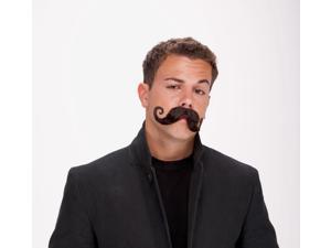 Mustache Handle Bar Mustache Black