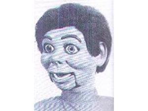 Jr. Black Female Vent Figure