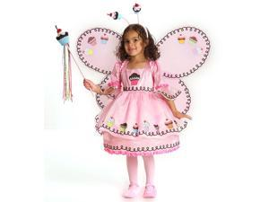 Child Cupcake Fairy Costume Princess Paradise 4205