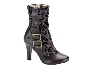 TESLA-106, Steampunk Tweed Calf Boot
