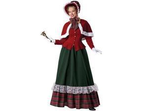 Yuletide Lady Christmas Caroler Womens Costume