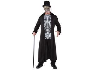 Skull Master Adult  Costume