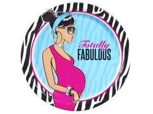 Totally Fabulous Baby Shower African American Dinner Plates