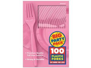 New Pink Big Party Pack - Forks