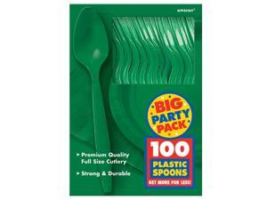 Festive Green Big Party Pack - Spoons