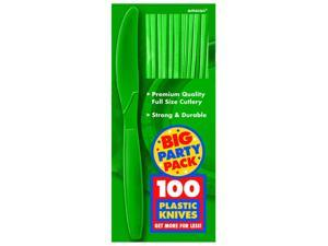 Festive Green Big Party Pack - Knives
