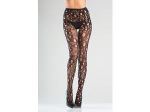 Crotchless Holey Fishnet Pantyhose