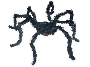 Light Up Bk Spider Long Hair