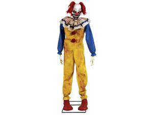 Twitching Clown Animated Prop