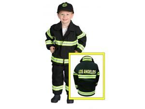 Jr. Firefighter Suit Size 18M LOS ANGELES