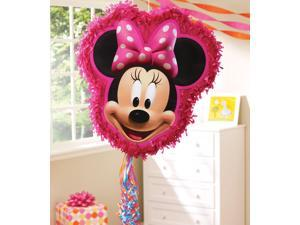 """Minnie Mouse 17"""" Pull String Pinata"""