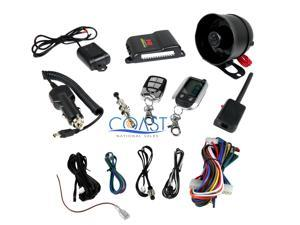 CrimeStopper SP-302 2-Way Alarm Paging & Keyless Entry Vehicle Security System
