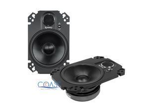 "Infinity Kappa 462.11cfp 4""x 6"" 180W 2-Way Coaxial Car Loudspeakers (46211cfp)"