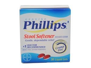 PHILLIPS'  STOOL SOFTENER DOCUSATE SODIUM  30 LIQUID SOFTGELS