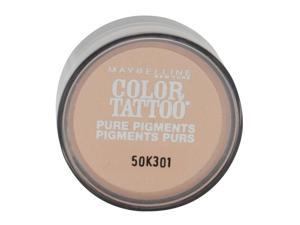 MAYBELLINE COLOR TATTOO PURE PIGMENTS EYE SHADOW #55 BARELY BRAZEN