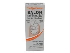 SALLY HANSEN SALON EFFECTS REAL NAIL POLISH STRIPS #410 LOVE LETTER